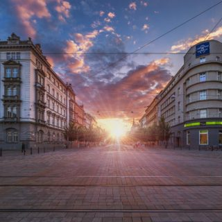 Slunce, Brno , autor: P. Gabzdyl