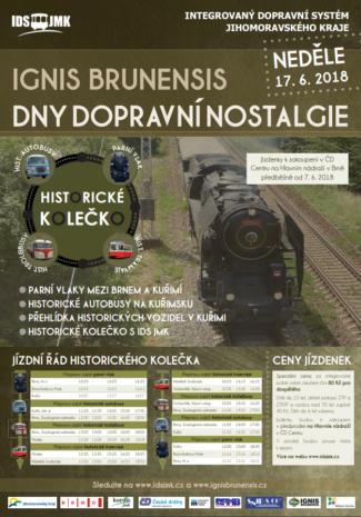 Ignis Brunensis Dny Dopravní Nostalgie