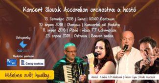 Koncert Slovak Accordion orchestra a hosté