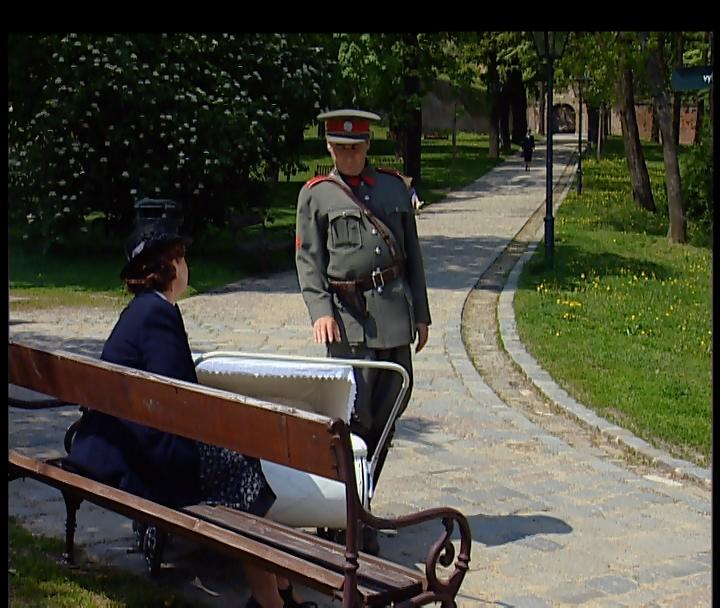 Četnické humoresky - park Špilberk