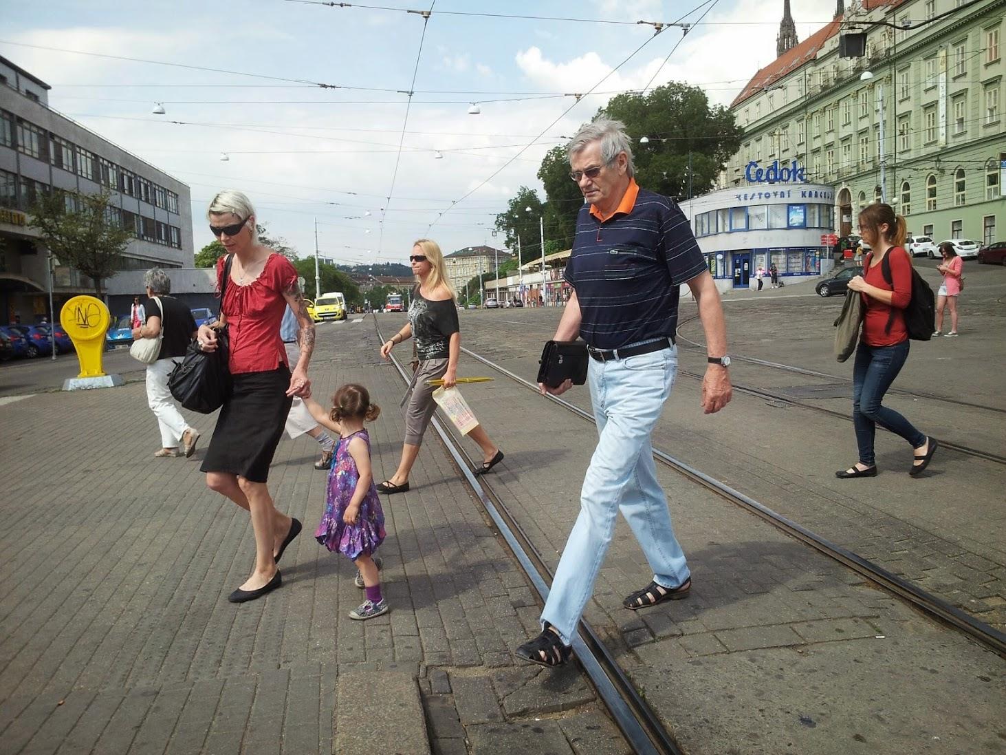 Lidé na hlavním nádraží