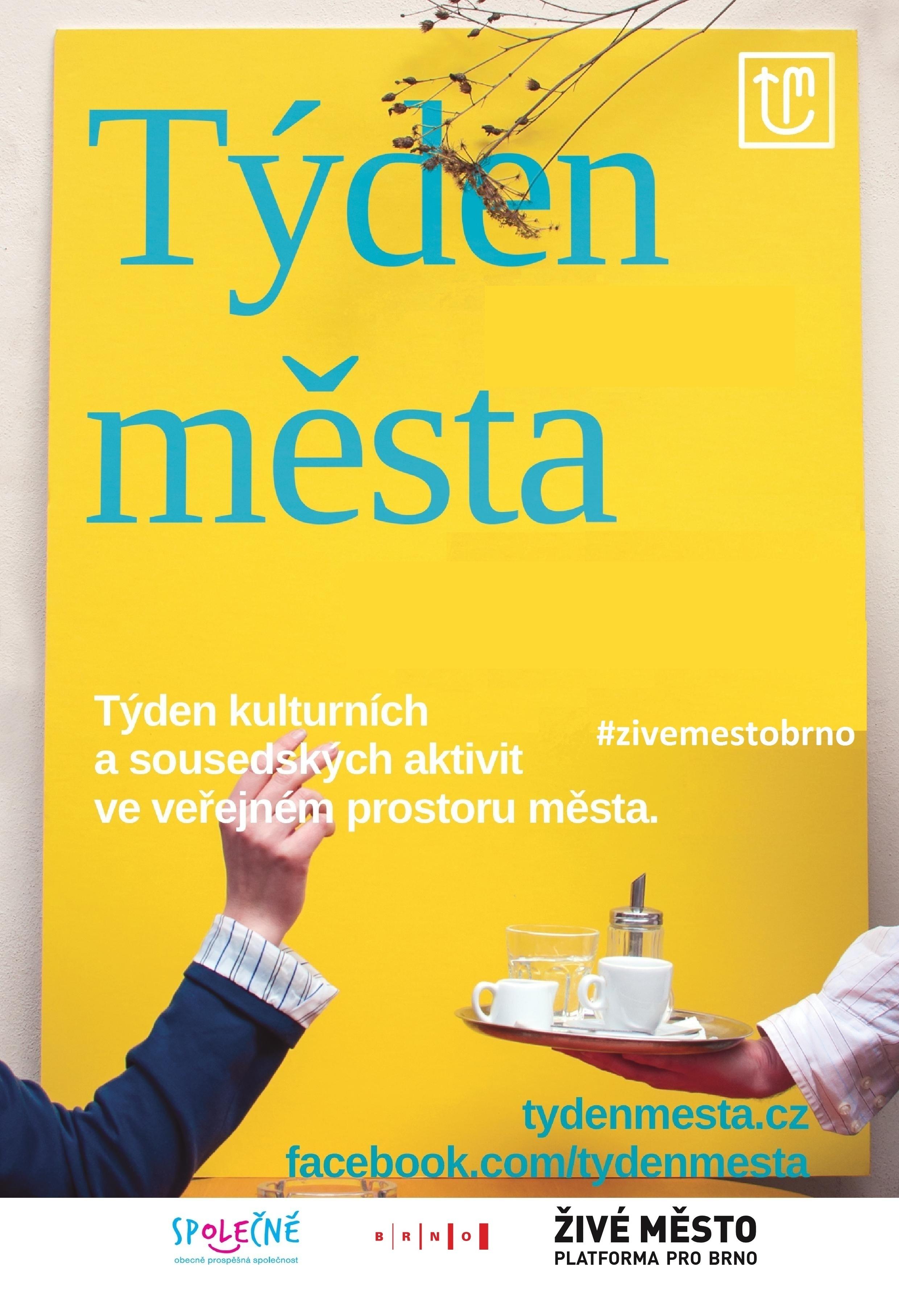 plakát Týdne města