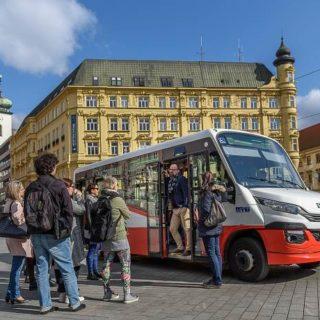 Vyhlídkové jízdy minibusem