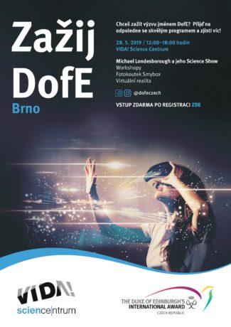 Zažij DofE v Brně