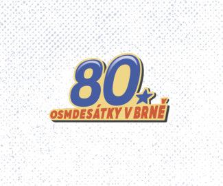 Osmdesátky v Brně - logo