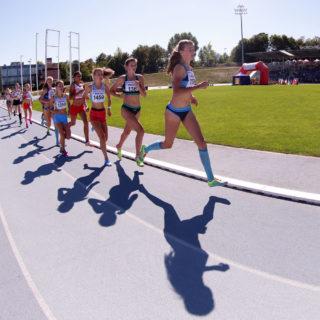European kids athletics games
