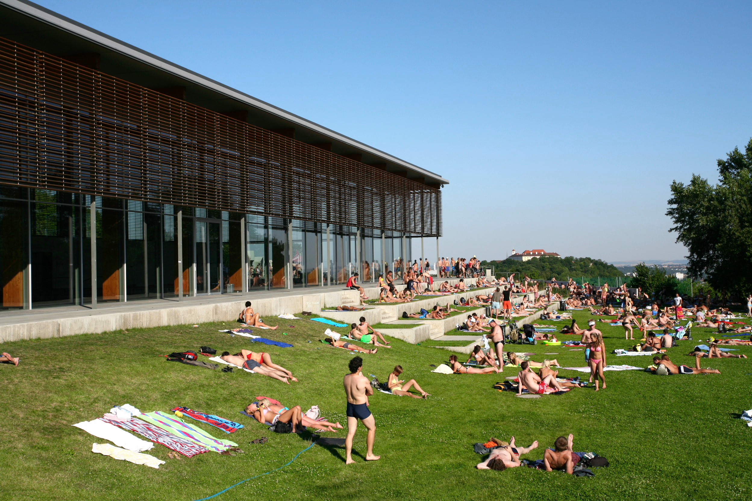 Kraví hora sports and recreation centre, David Židlický