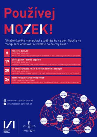 plakát Používej MoZeK