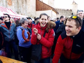 Slavnosti moravského uzeného a vína, hrad Veveří Brno