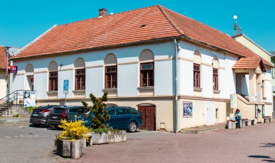 Budova Staré hasičky, která by měla brzy projít rekonstrukcí, (c) Františka Foto