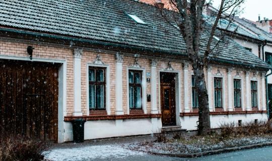 Bývalá kovárna s památkově chráněným průčelím, (c) Františka Foto