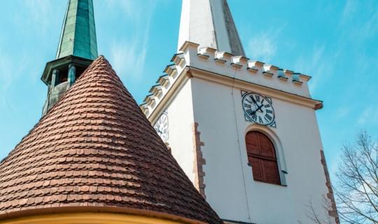 Věž kostela sv. Vavřince,(c) Františka Foto