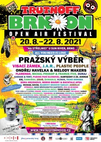 Plakát Trutnoff Brnoon Festival