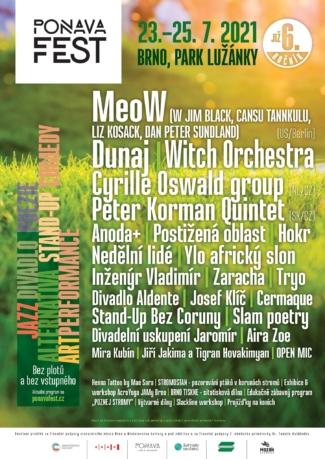 PonavaFest 2021 Lužánky Brno