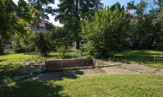 Bazén v Navrátilově sanatoriu dnes. Foto_Jiřina Rittichová