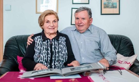 Ing. František Navrátil s manželkou. Foto_Františka Foto