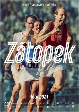 Zátopek - plakát