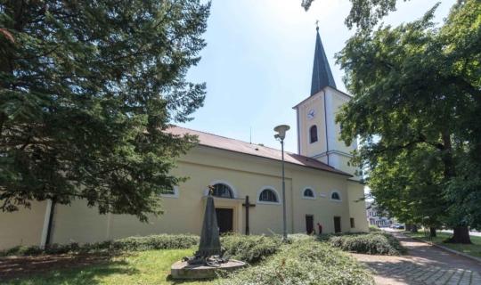 Kostel sv. Janů v Bystrci, autorka Jiřina Rittichová