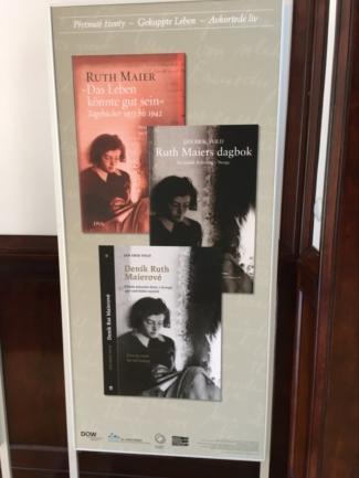 vydání deníků Ruth Maierové v českém překladu a dalších jazycích
