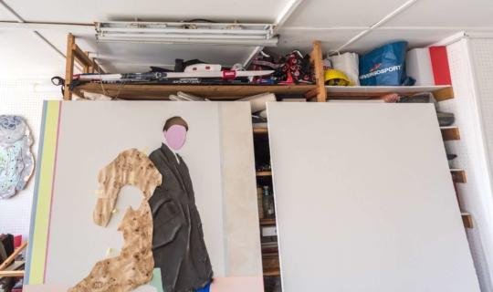 Atelier Natalie Perkof, díla v procesu. Foto_Jiřina Rittichová