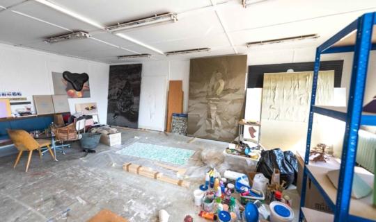 Atelier Natalie Perkof. Foto_Jiřina Rittichová