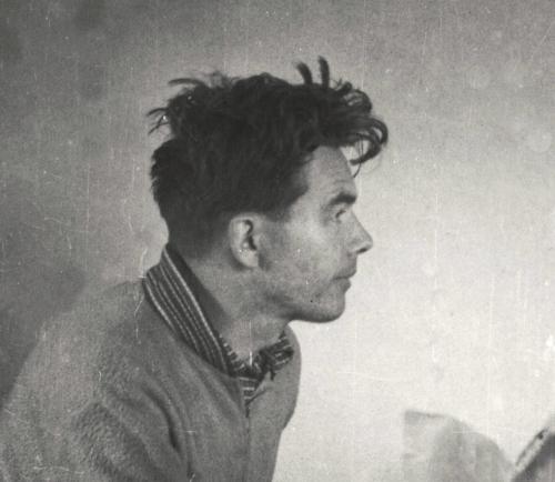 Jan Novák v roce 1956, archiv Richard Novák