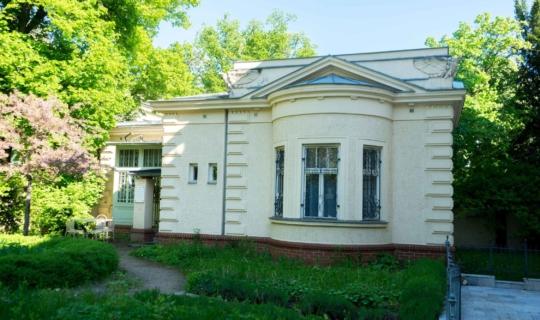 Janáčkův dům na Smetanově v zahradě Chleborádovy vily, dnes Památník Leoše Janáčka. Foto_Radek Nejeschleba