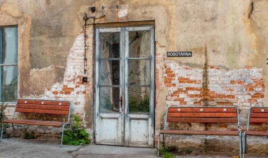Na dvoře bývalé káznice. Foto_Františka FOTO (1)