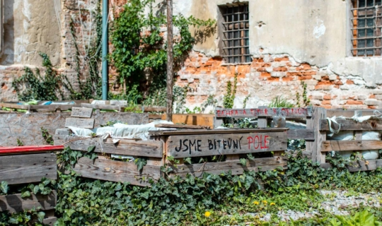 Na dvoře bývalé káznice. Foto_Františka FOTO (2)