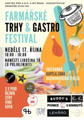 plakát trhy a festival Kohoutovice