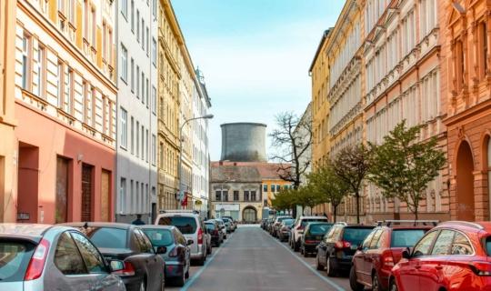 Pohled do ulice Körnerova. Foto_Františka FOTO