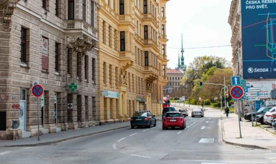 Z Bratislavské je to do historického centra jen kousek. Foto_Františka FOTO